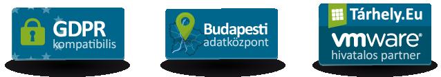 GDPR kompatibilis, budapesti VMware VPS